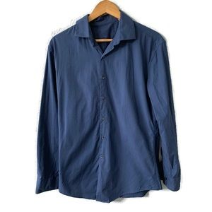 Calvin Klein Blue Button Down Dress Shirt